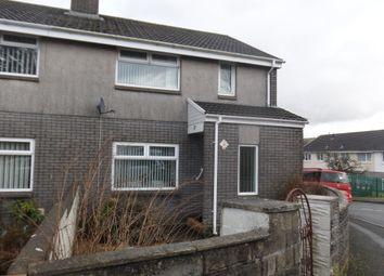Thumbnail 2 bed end terrace house for sale in Heol Rhyd Y Bedd, Pant, Merthyr Tydfil