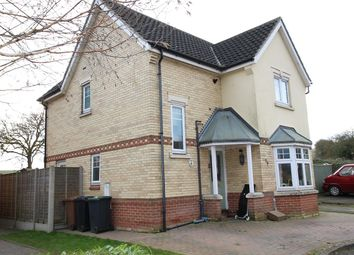 Thumbnail 4 bedroom detached house for sale in Hood Drive, Great Blakenham, Ipswich, Suffolk