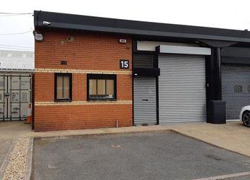 Thumbnail Light industrial to let in Unit 15 Redbridge Enterprise Centre, Thompson Close, Ilford, Essex