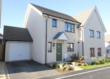 Thumbnail 3 bed semi-detached house for sale in Mimosa Way, Paignton
