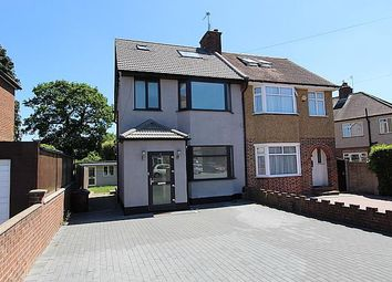 Thumbnail 5 bed semi-detached house for sale in Hayes End Drive, Hayes UB4 8Hb