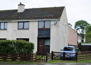 Thumbnail 3 bed semi-detached house for sale in Woodlands Drive, Milton, Invergordon