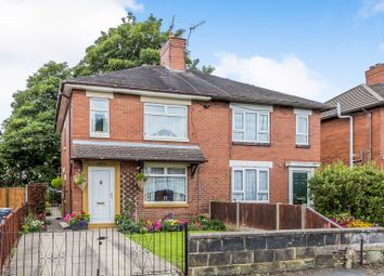Thumbnail 2 bed semi-detached house for sale in Newcastle Road, Stoke-On-Trent, Staffordshire