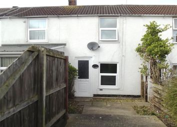 Thumbnail 2 bed terraced house for sale in Station Road, Sutton On Sea, Lincs.
