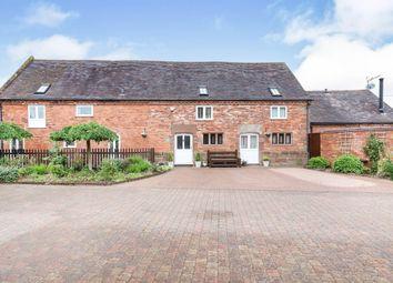 Thumbnail 3 bed barn conversion for sale in Saredon Hall Farm, Windy Arbour Lane, Great Saredon, Wolverhampton