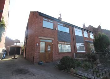 Thumbnail 4 bed semi-detached house for sale in Brook Road, Urmston, Manchester