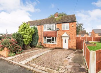 Thumbnail 3 bed semi-detached house for sale in Cleveland Road, Stonebroom, Alfreton