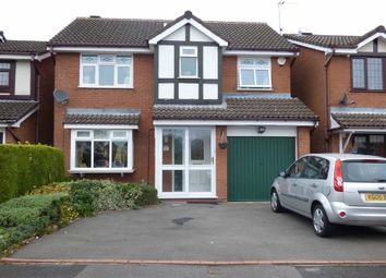 Thumbnail 4 bed detached house for sale in Fordham Grove, Pendeford, Wolverhampton