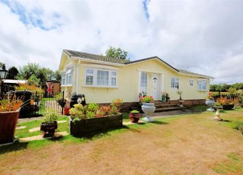 Thumbnail 3 bed mobile/park home for sale in Stoneway Park, Stone Street, Petham, Canterbury