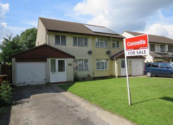 Thumbnail 3 bedroom semi-detached house for sale in Mercers Drive, Bradville, Milton Keynes