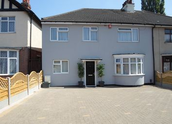 Thumbnail 5 bed semi-detached house for sale in Humberstone Drive, Leicester