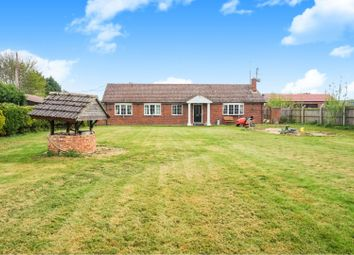 Thumbnail 5 bed detached bungalow for sale in Hassock Hill Drove, Wisbech