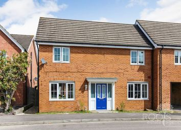Thumbnail 3 bed semi-detached house for sale in Horne Road, Thatcham