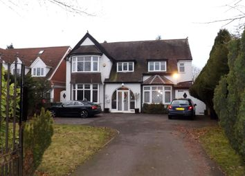 Thumbnail 6 bed detached house for sale in Stratford Road, Shirley, Solihull