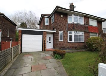 Thumbnail 3 bed semi-detached house for sale in Roundwood Road, Manchester