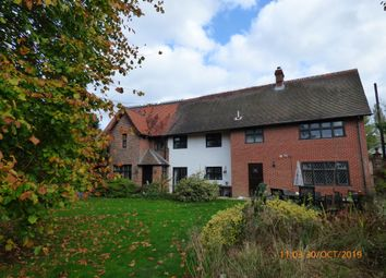 Thumbnail 4 bed detached house to rent in Church Road, Flixton, Bungay