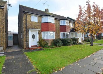 Thumbnail 3 bedroom end terrace house for sale in Canterbury Avenue, Southend-On-Sea