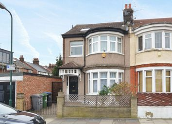 Thumbnail 3 bedroom end terrace house for sale in Dewsbury Road, London