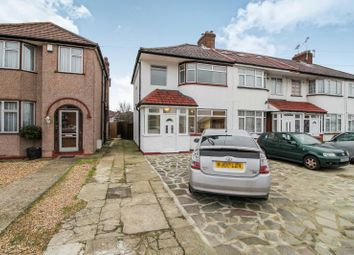Thumbnail 3 bed semi-detached house to rent in Lawrence Crescent, Edgware, Queensbury