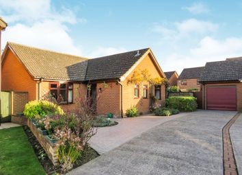 Thumbnail 3 bed detached bungalow for sale in Tulip Close, Attleborough