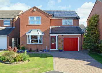 Thumbnail 4 bedroom detached house for sale in Coledale Close, York