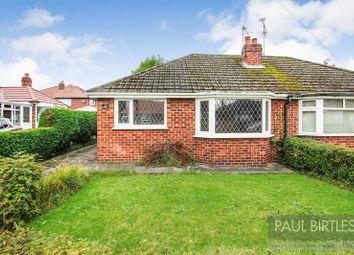 Thumbnail 2 bedroom semi-detached bungalow for sale in Constance Road, Partington, Manchester