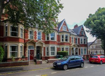 Thumbnail 2 bedroom flat to rent in Marlborough Road, Roath, Cardiff