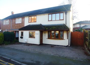 Thumbnail 2 bed semi-detached house for sale in Lower Sandford Street, Lichfield