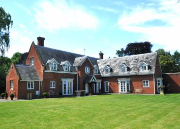 Thumbnail 8 bed detached house for sale in Nacton, Ipswich, Suffolk
