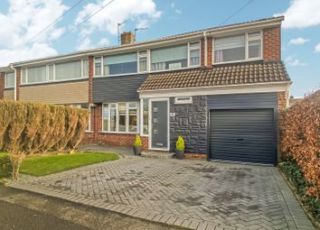 Thumbnail 4 bed semi-detached house for sale in Eddrington Grove, Newcastle Upon Tyne