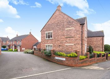 Thumbnail 1 bed flat for sale in Hill Street, Barwell, Leicester, Leicestershire