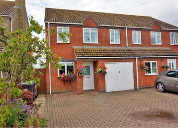 Thumbnail 3 bed semi-detached house for sale in Jerusalem Cottages, Skellingthorpe, Lincoln