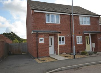 Thumbnail 2 bed semi-detached house to rent in Folkestone Drive, Corby