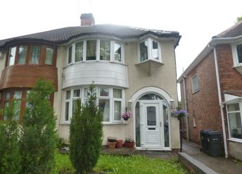 Thumbnail 3 bed semi-detached house for sale in Abbotts Road, Erdington, Birmingham