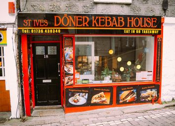 Thumbnail Restaurant/cafe for sale in 18 Chapel Street, St Ives