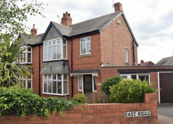 Thumbnail 3 bed semi-detached house for sale in East Riggs, Bedlington