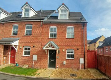 Thumbnail 3 bed town house for sale in Buttercups Close, Penallta, Hengoed