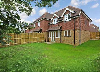 Thumbnail 3 bed semi-detached house for sale in London Road, Swan Corner, Ashington, West Sussex