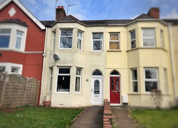 Thumbnail 3 bed terraced house for sale in Risca Road, Newport