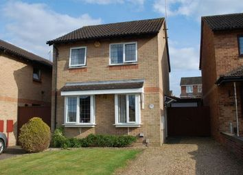 Thumbnail 3 bedroom detached house for sale in Oakleigh Drive, Duston, Northampton
