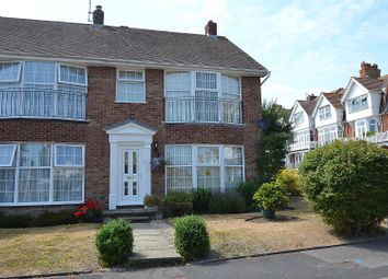 Thumbnail 3 bed end terrace house for sale in Churchill Close, Eastbourne
