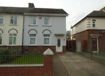 Thumbnail 2 bed semi-detached house for sale in Rene Road, Tamworth, Staffordshire