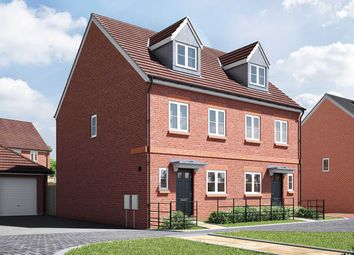 "Thumbnail 3 bed semi-detached house for sale in ""The Trevail"" at Wood Lane, Binfield, Bracknell"