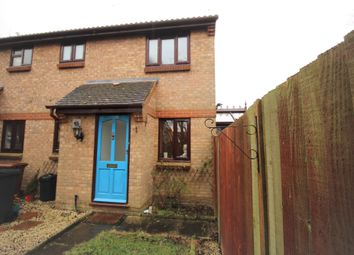 Thumbnail 1 bed end terrace house to rent in Duncan Close, Welwyn Garden City