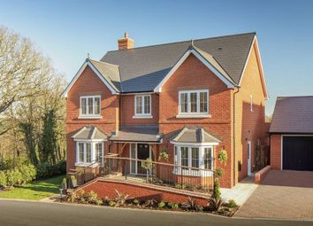 "Thumbnail 5 bedroom detached house for sale in ""The Solville"" at Gardeners Hill Road, Wrecclesham, Farnham"