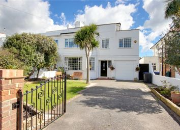 Thumbnail 5 bed semi-detached house for sale in Robson Road, Goring-By-Sea, Worthing