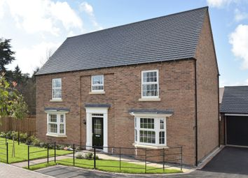 "Thumbnail 5 bed detached house for sale in ""Henley"" at Wright Close, Whetstone, Leicester"