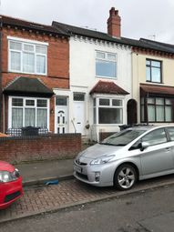 Thumbnail 1 bed terraced house to rent in Fourth Ave, Birmingham