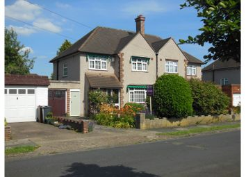 Thumbnail 3 bed semi-detached house for sale in Queens Avenue, Hanworth Park