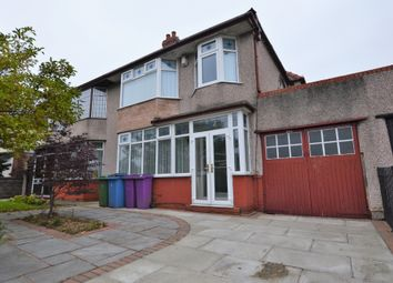 Thumbnail 4 bed semi-detached house to rent in Queens Drive, West Derby, Liverpool
